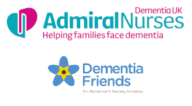 Admiral Nurses and Dementia Friends Logos