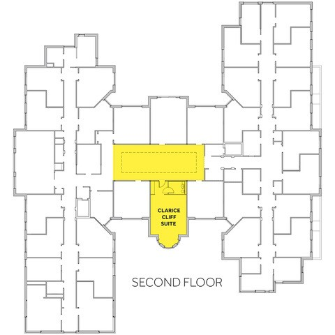Bourne View Second Floor, Floor Plan