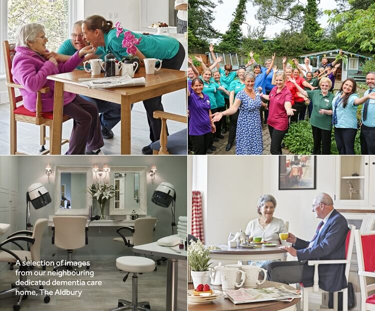The Aldbury, Dementia Care