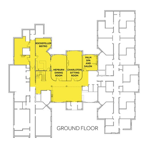 Bourne View Ground Floor, floor plan