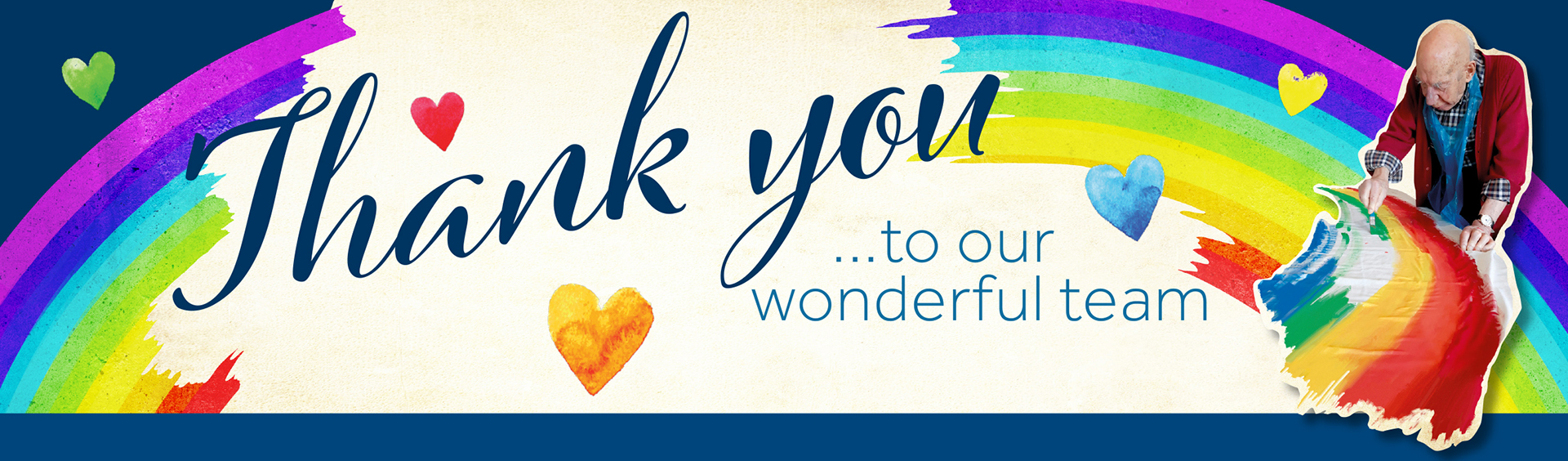 Microsite Thank You Banner