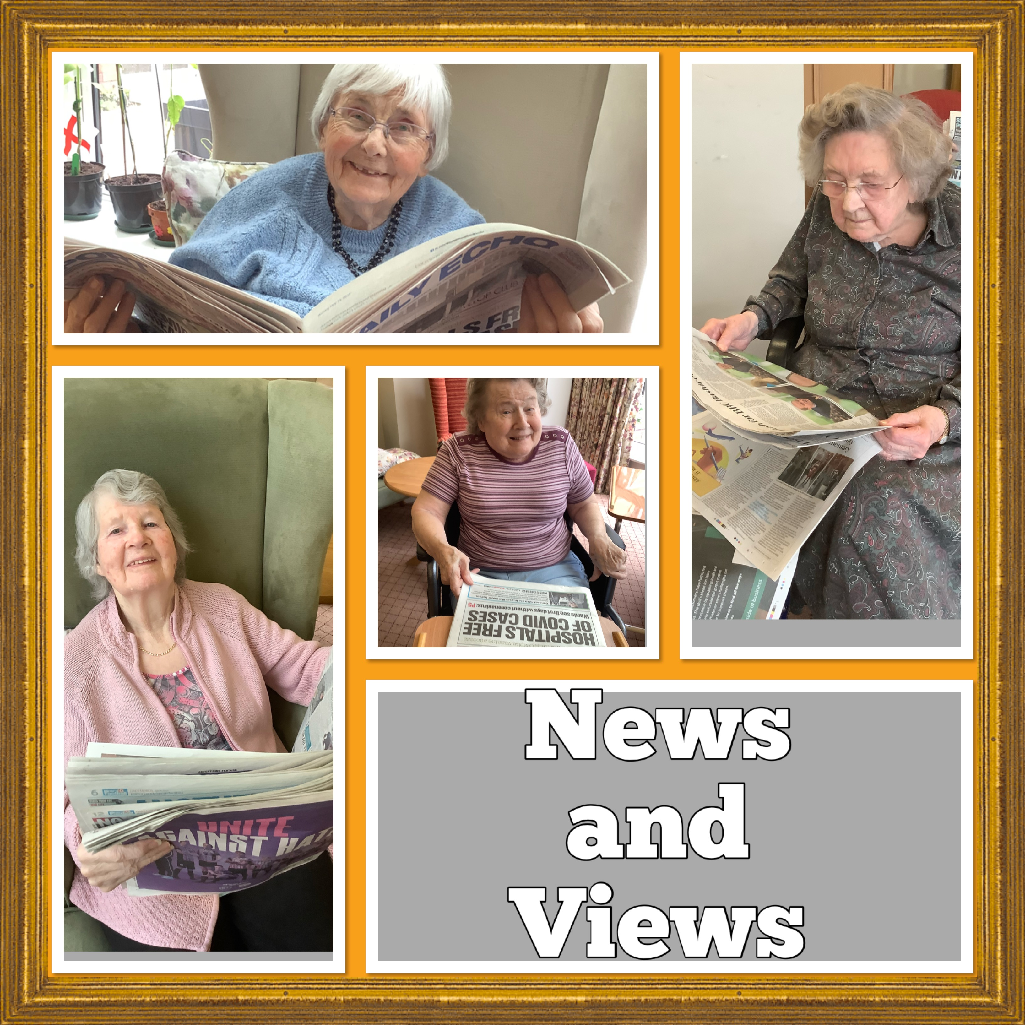 News and Views collage