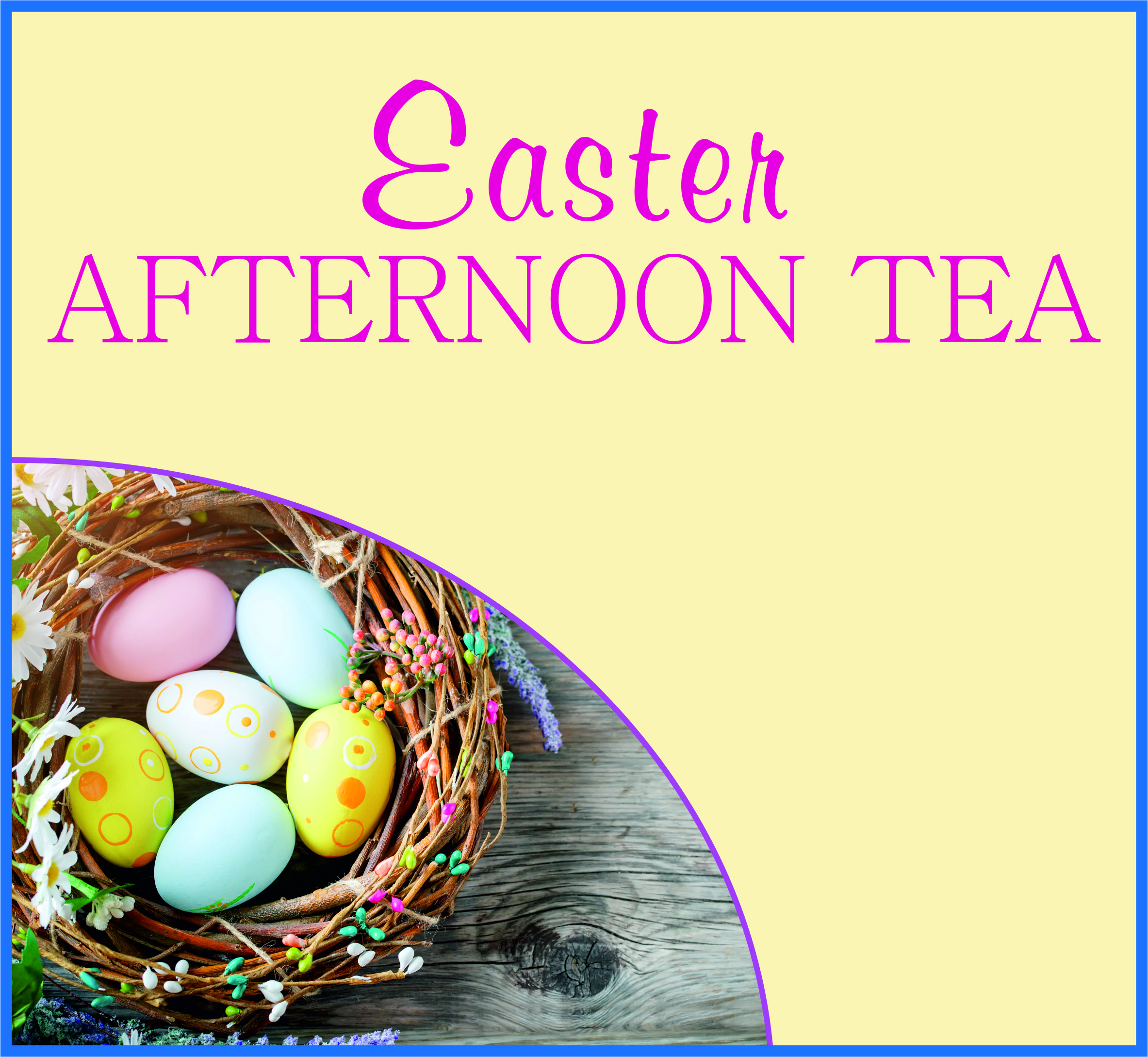 Events Template easter KF