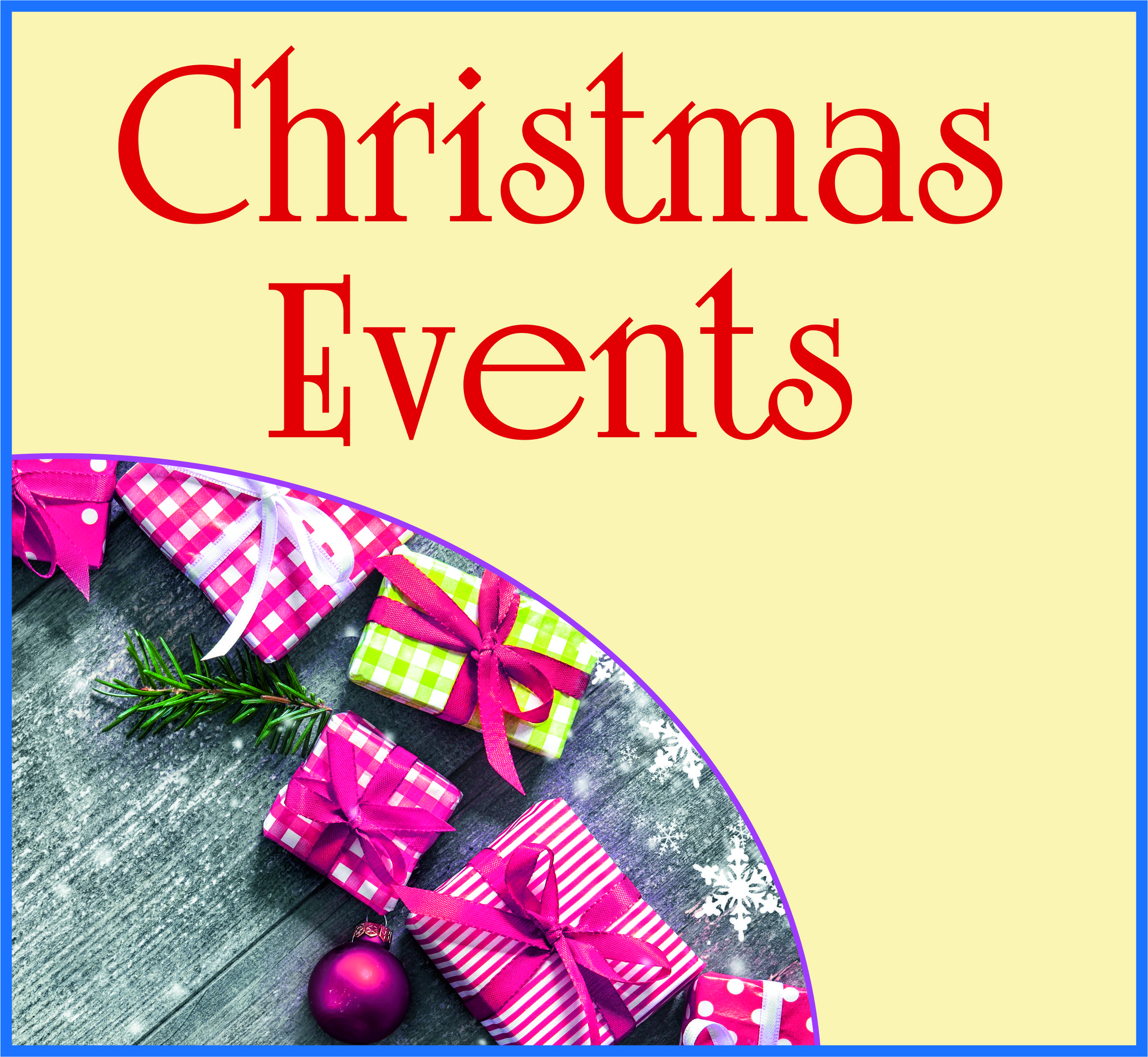 Events Template xmas events KF