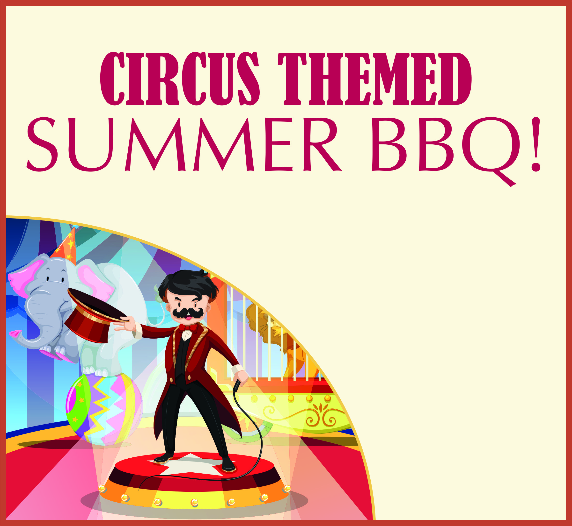 Events Template bbq AB