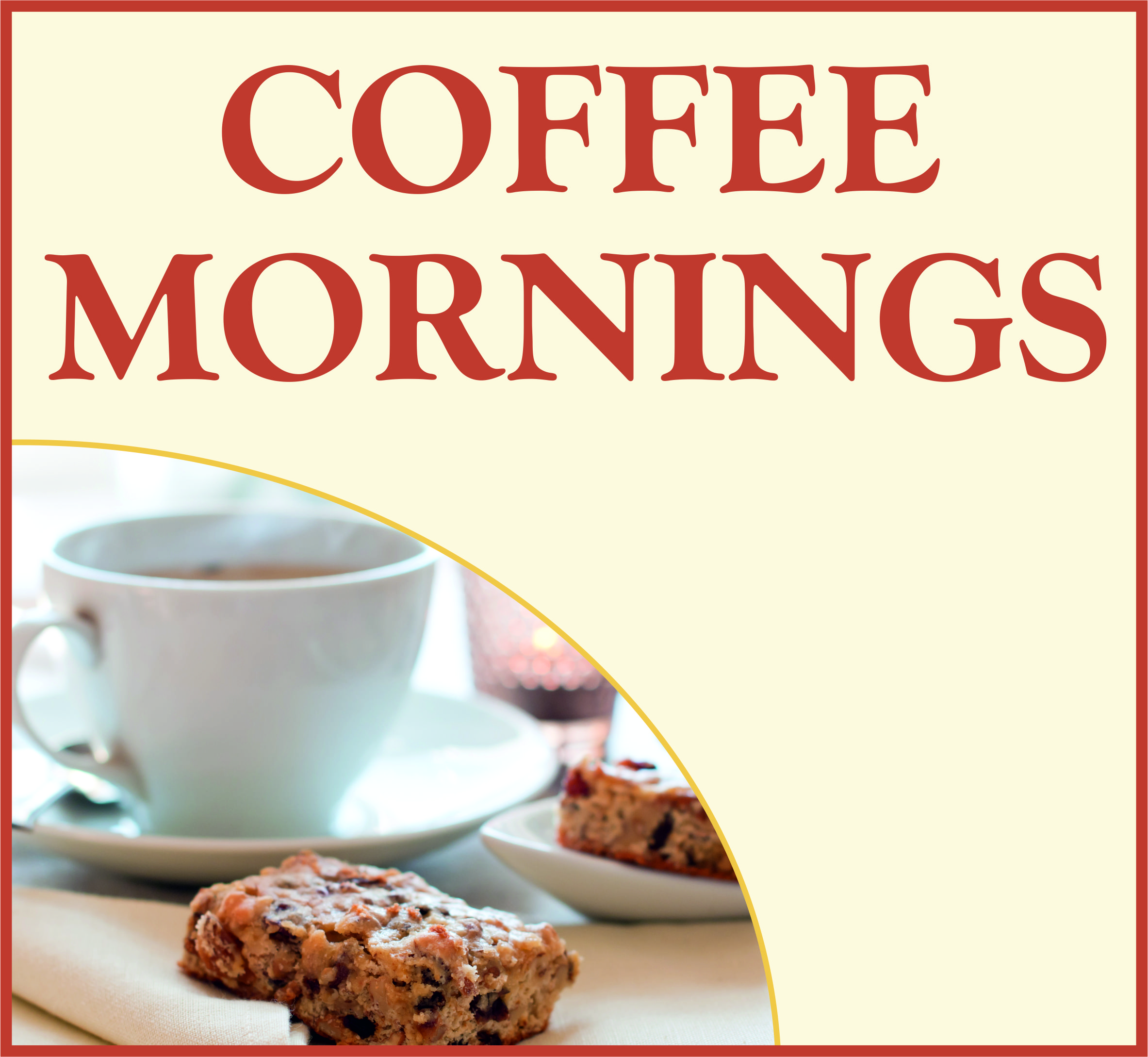 Events Template coffee mornings AB