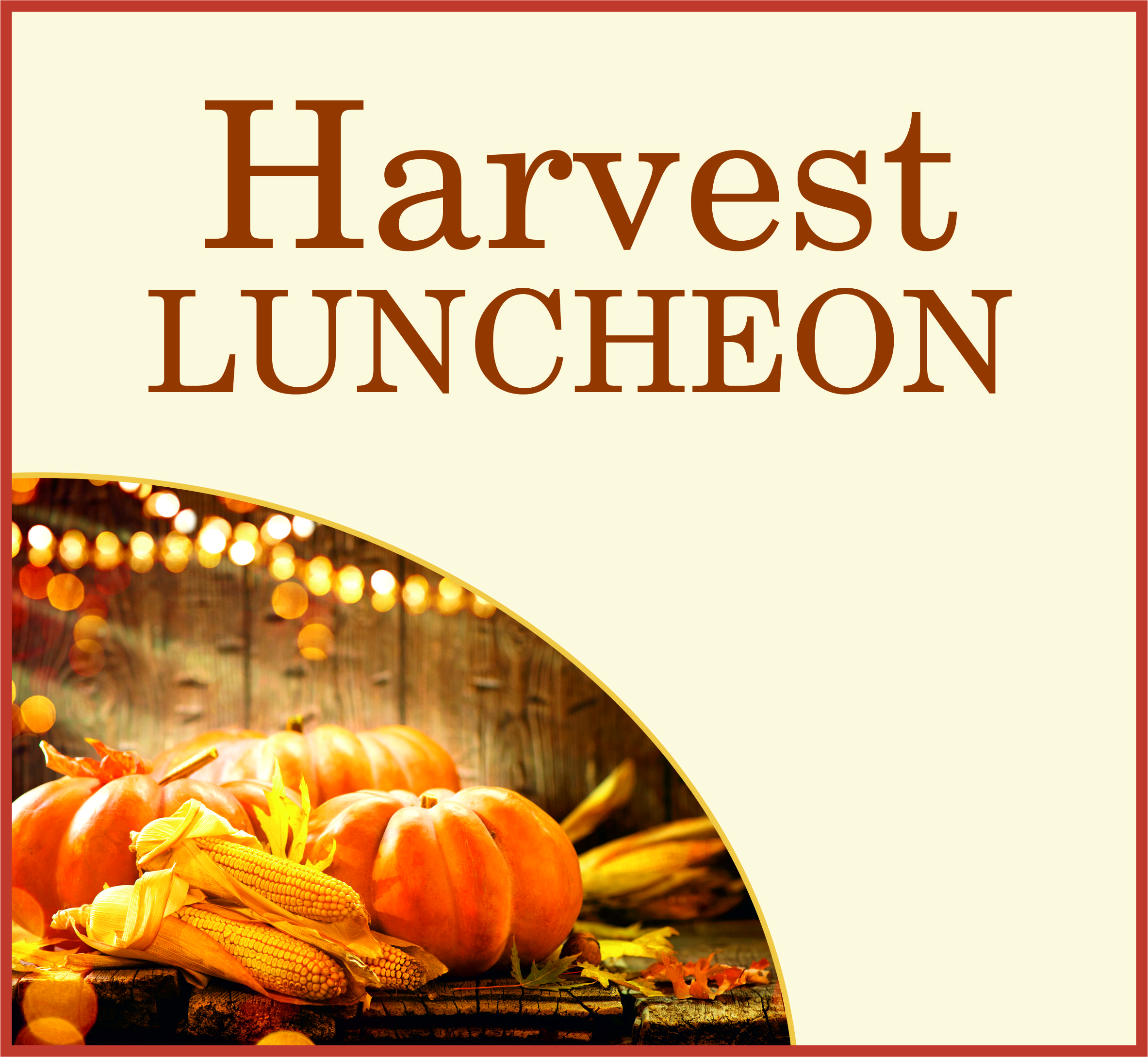 Events Template harvest AB
