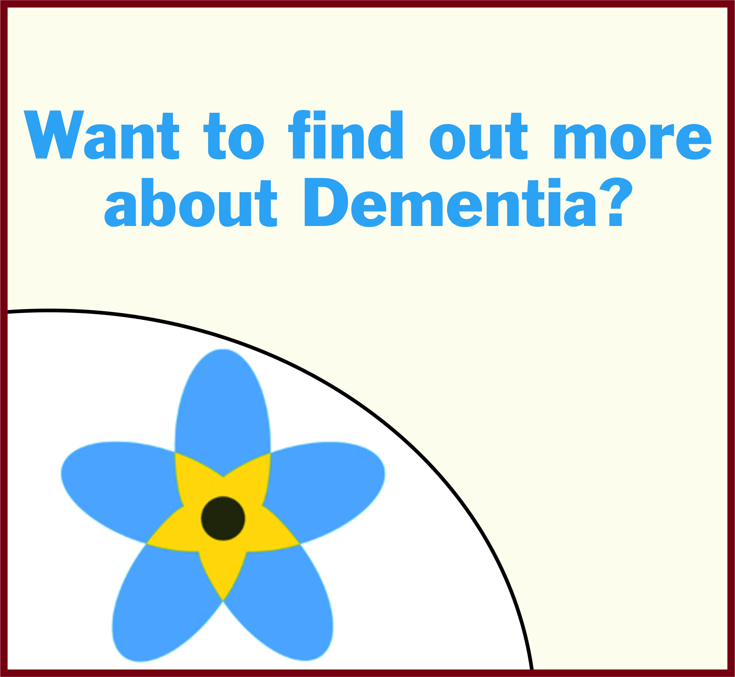 Events Template dementia AW