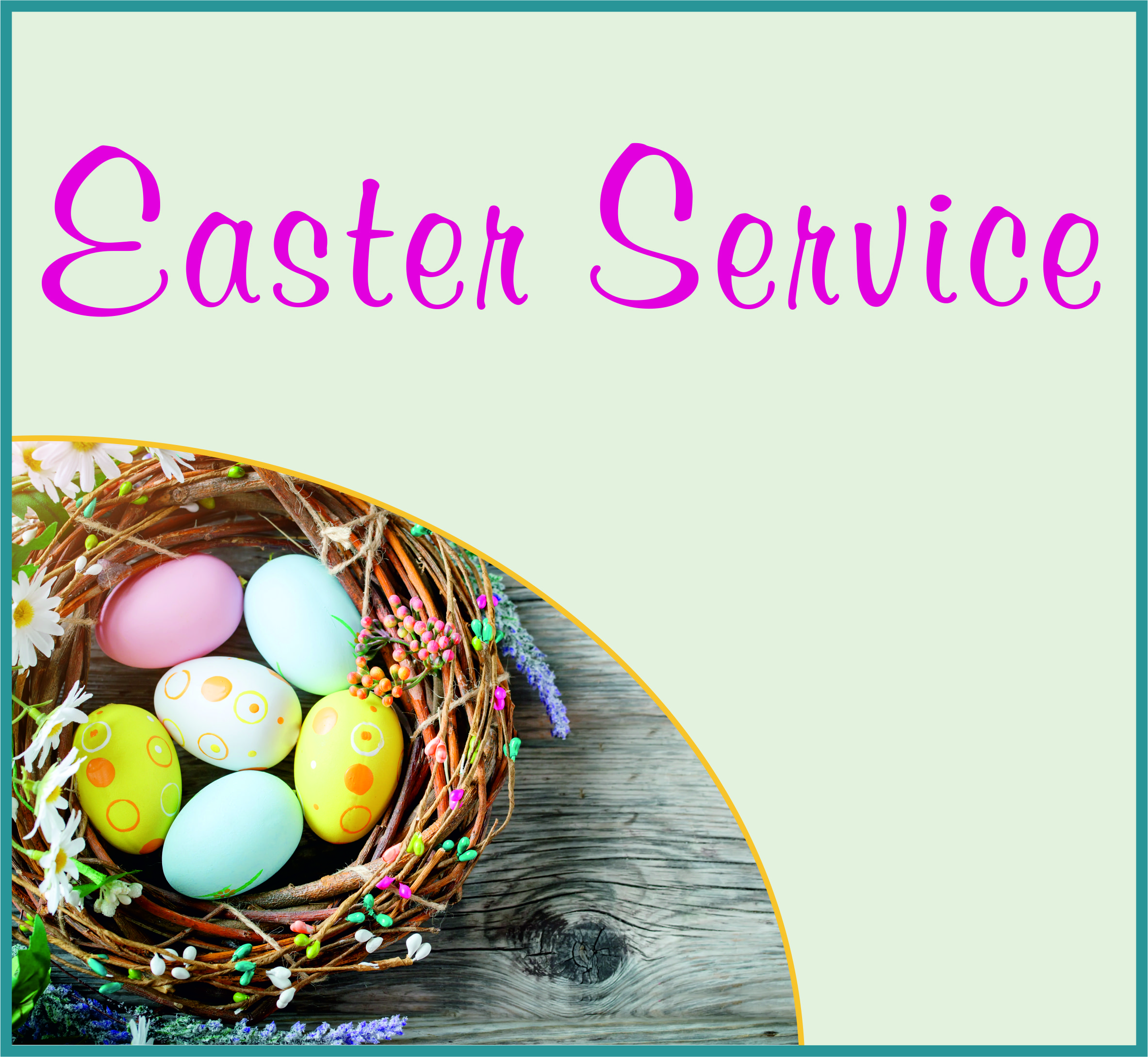 Events Template easter BL