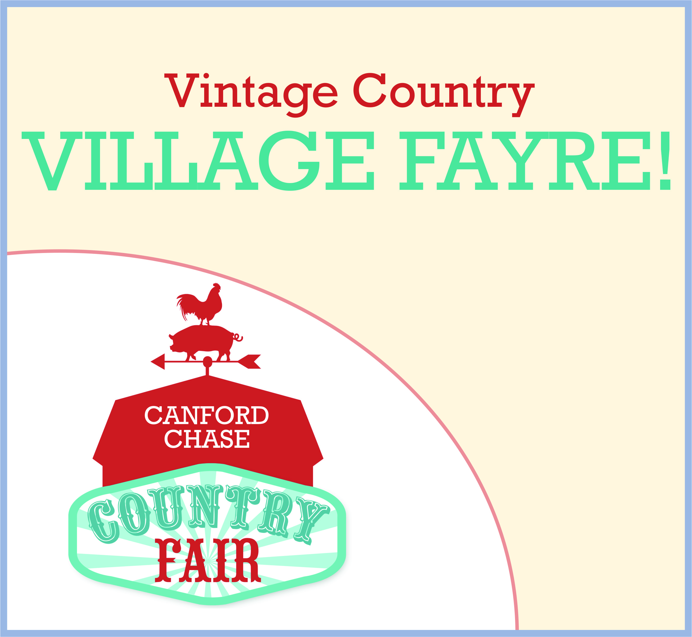 Events Template country fair CC