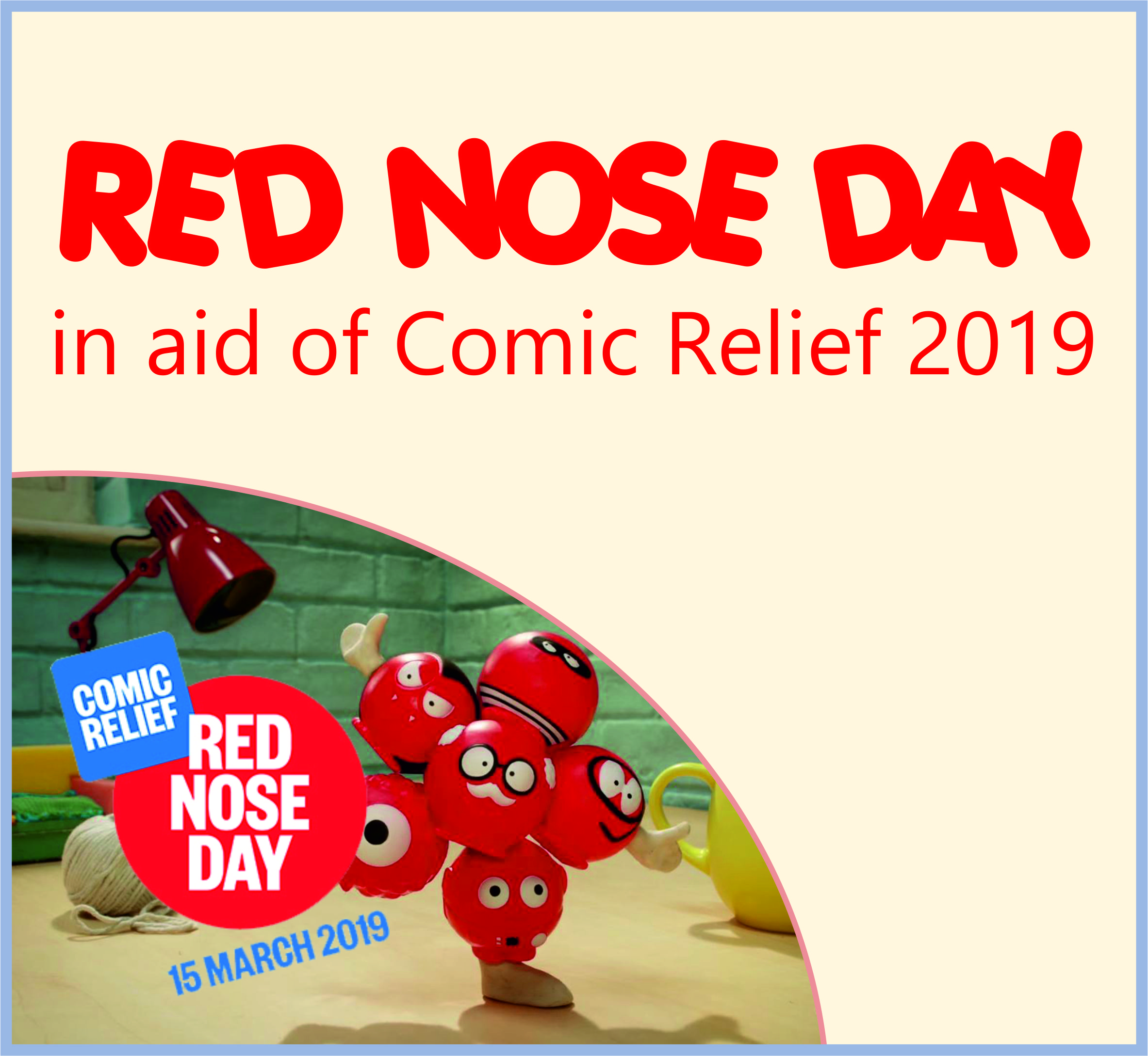 Events Template red nose CC