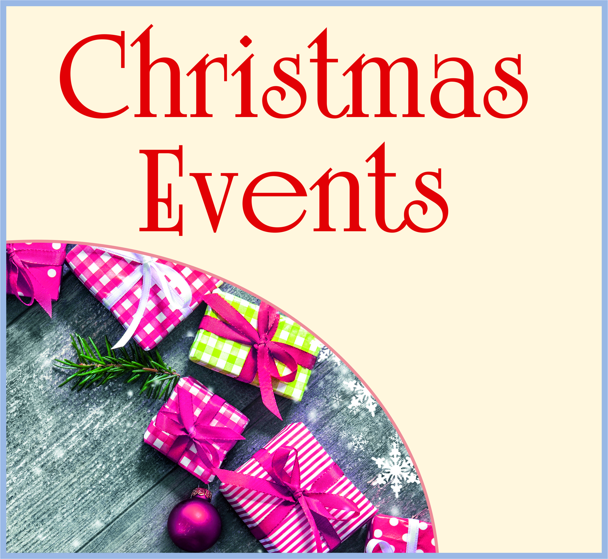Events Template xmas events CC