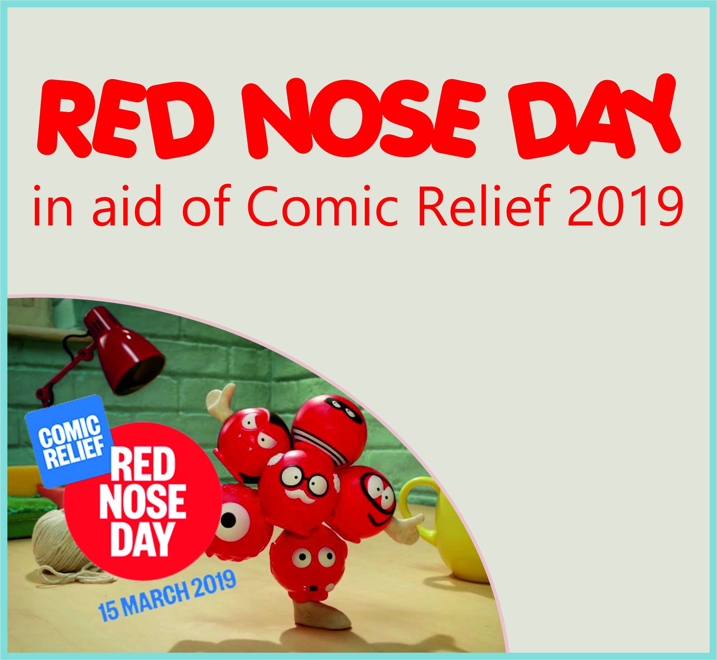 Events Template red nose CV