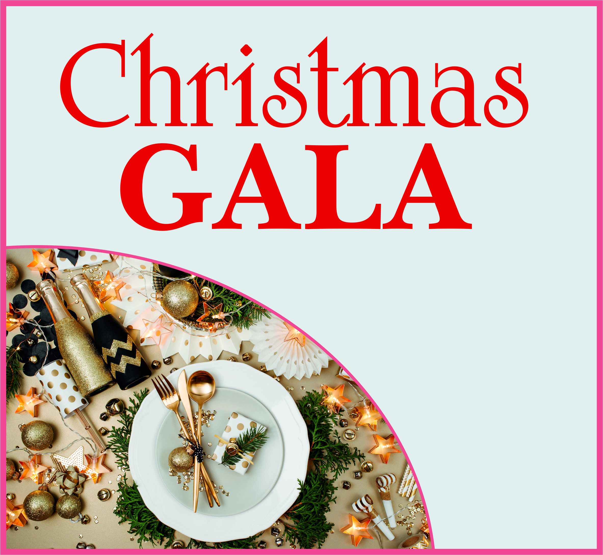Events Template gala CL