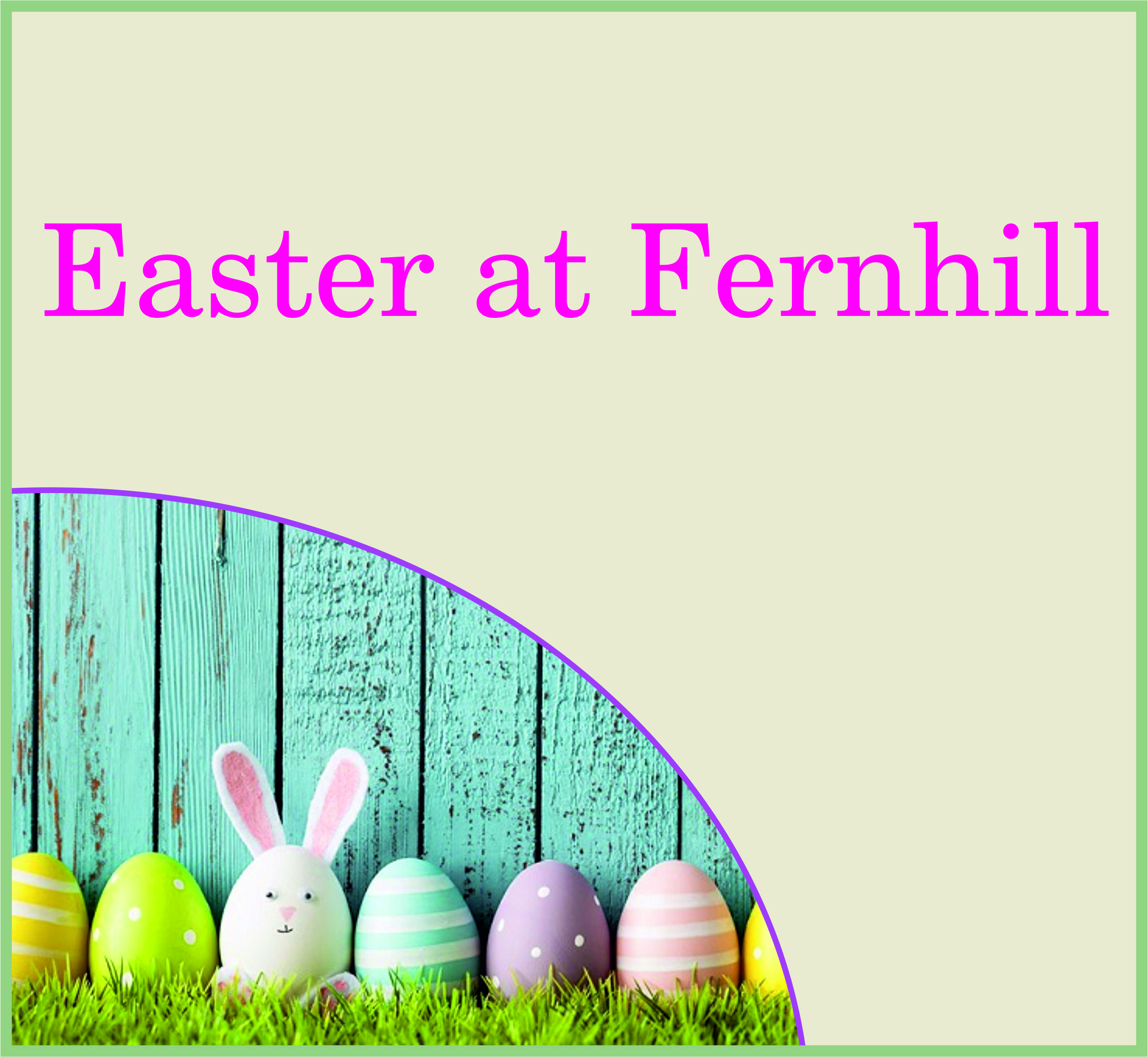 Events Template easter FH