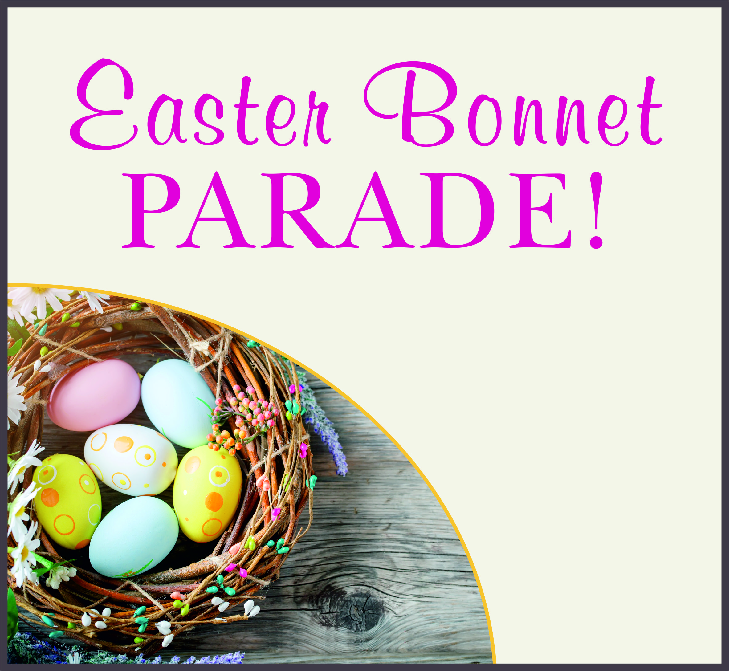 Events Template easter LH