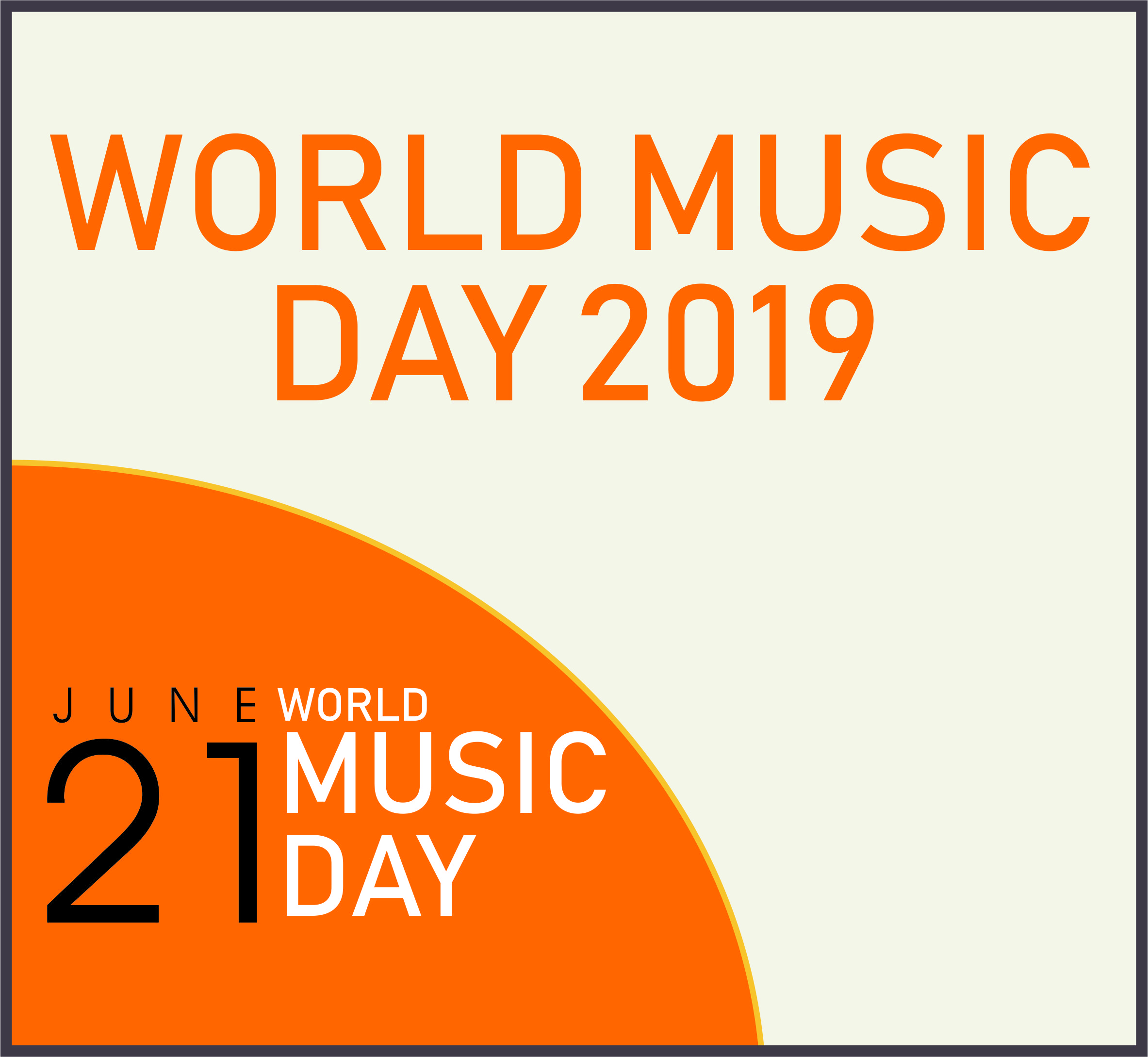 Events Template world music LH