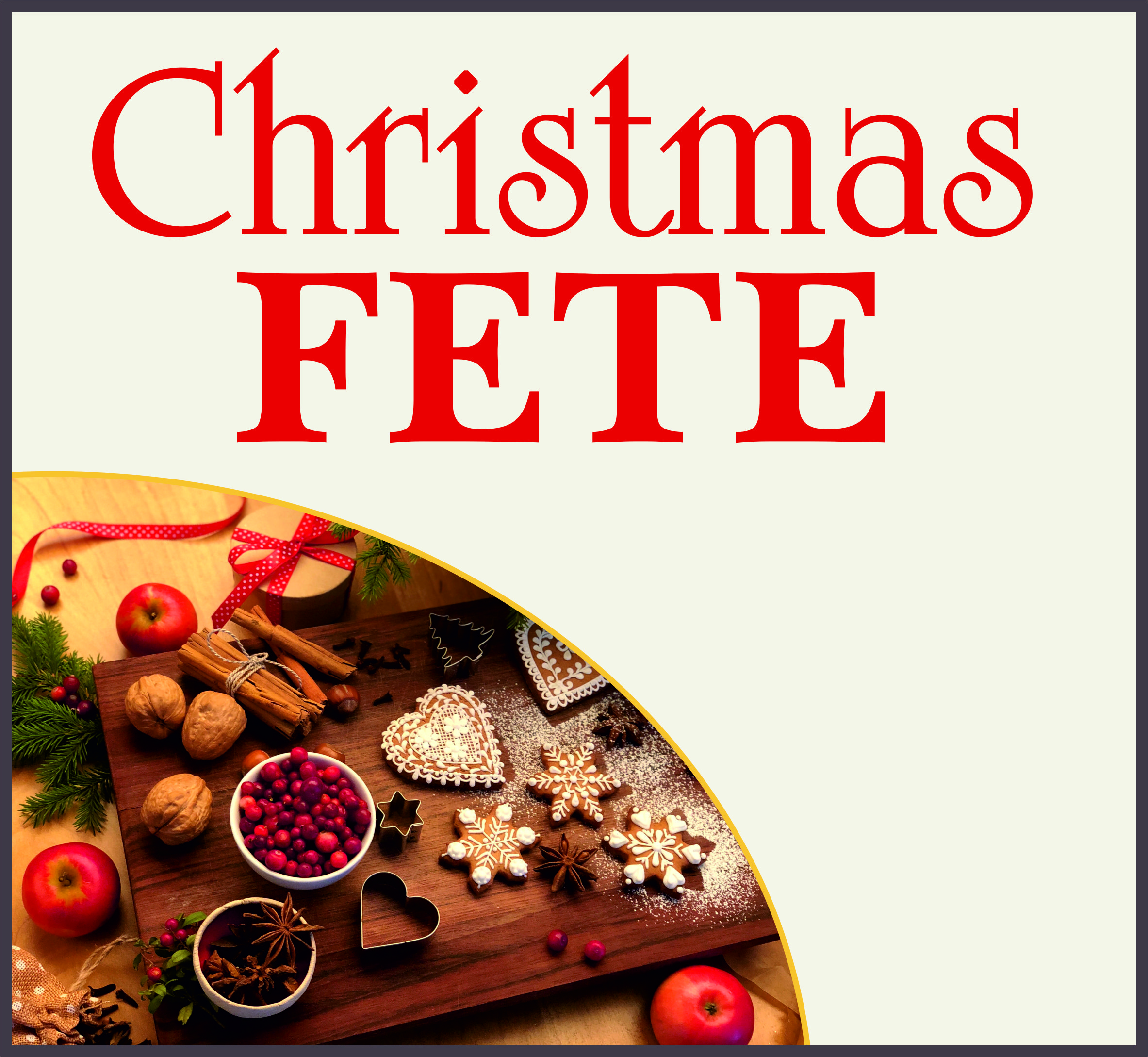 Events Template xmas fete LH