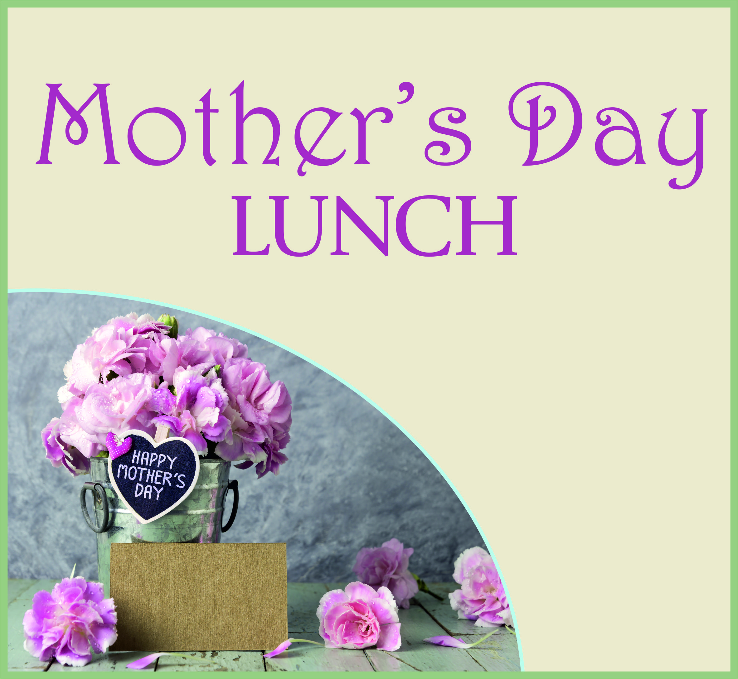 Events Template mother lunch NS