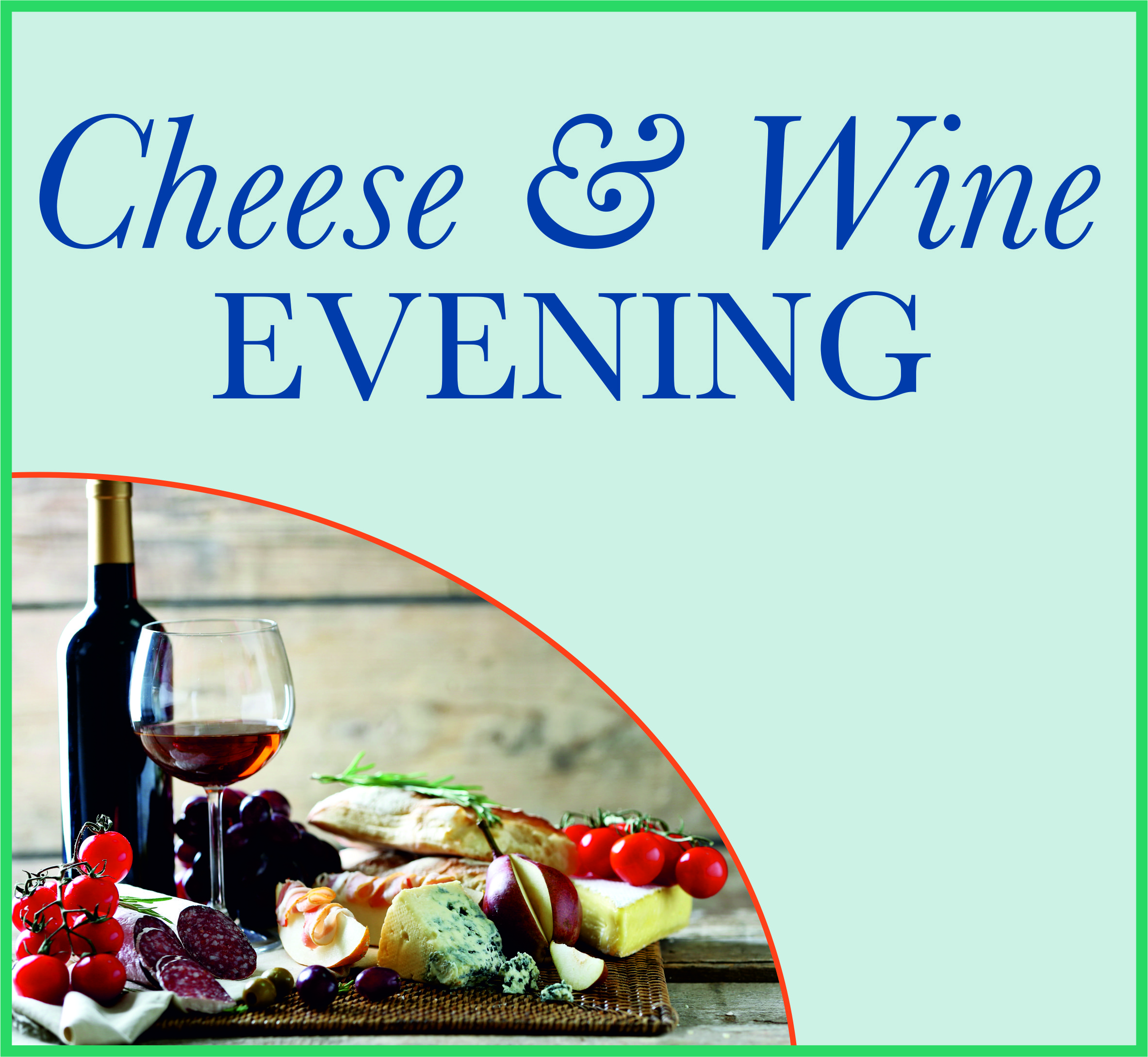 Events Template cheese wine TA