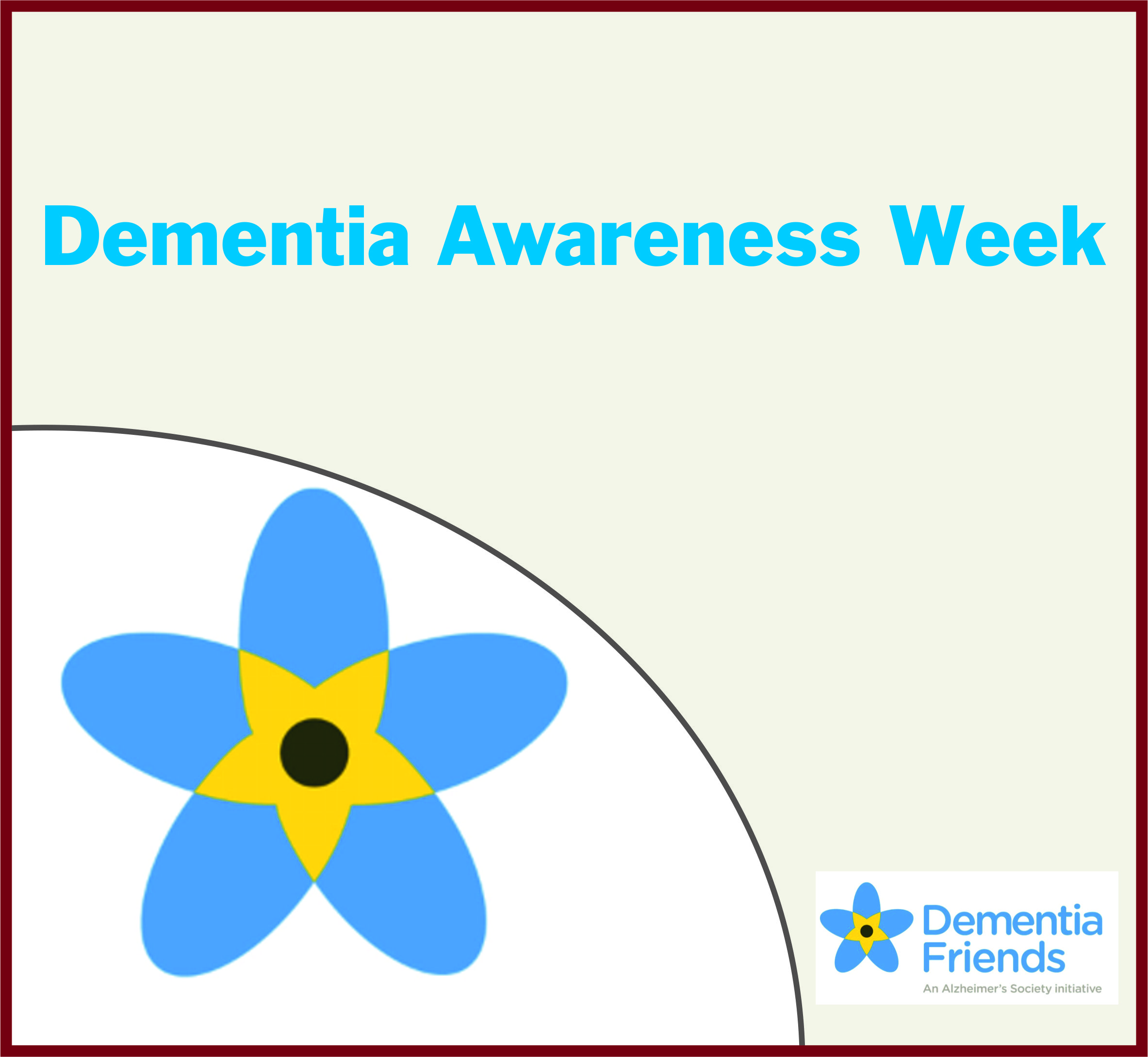 Events Template dementia WG
