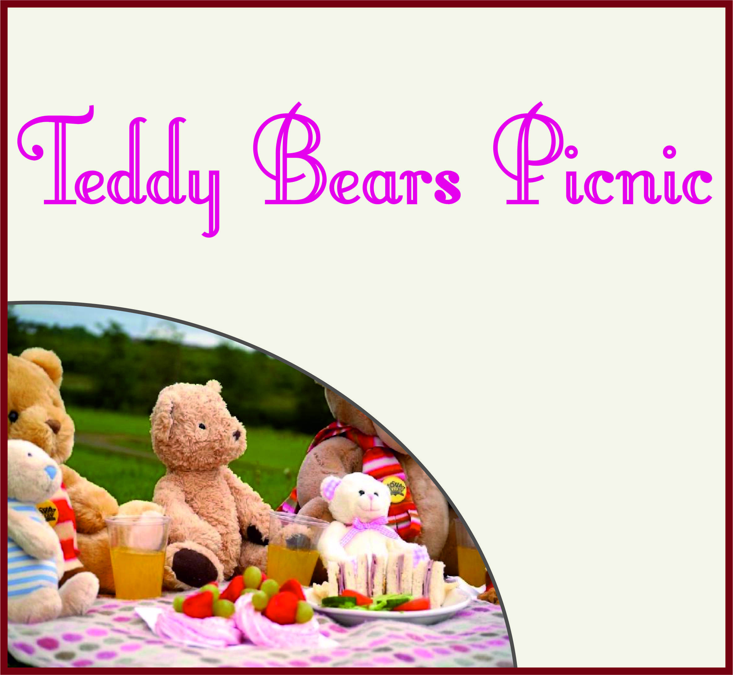 Events Template teddy WG