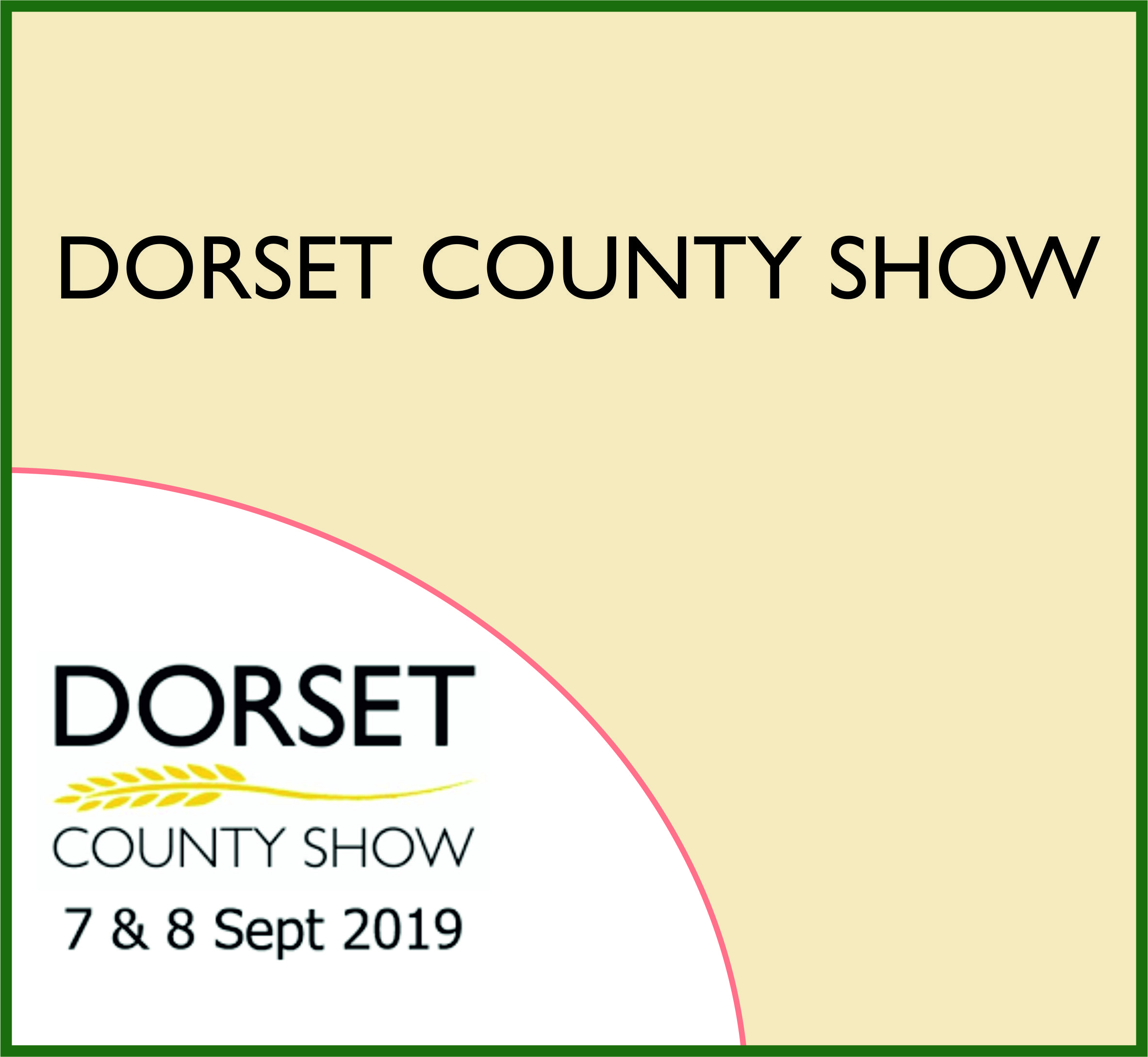 Events Template dorset WH