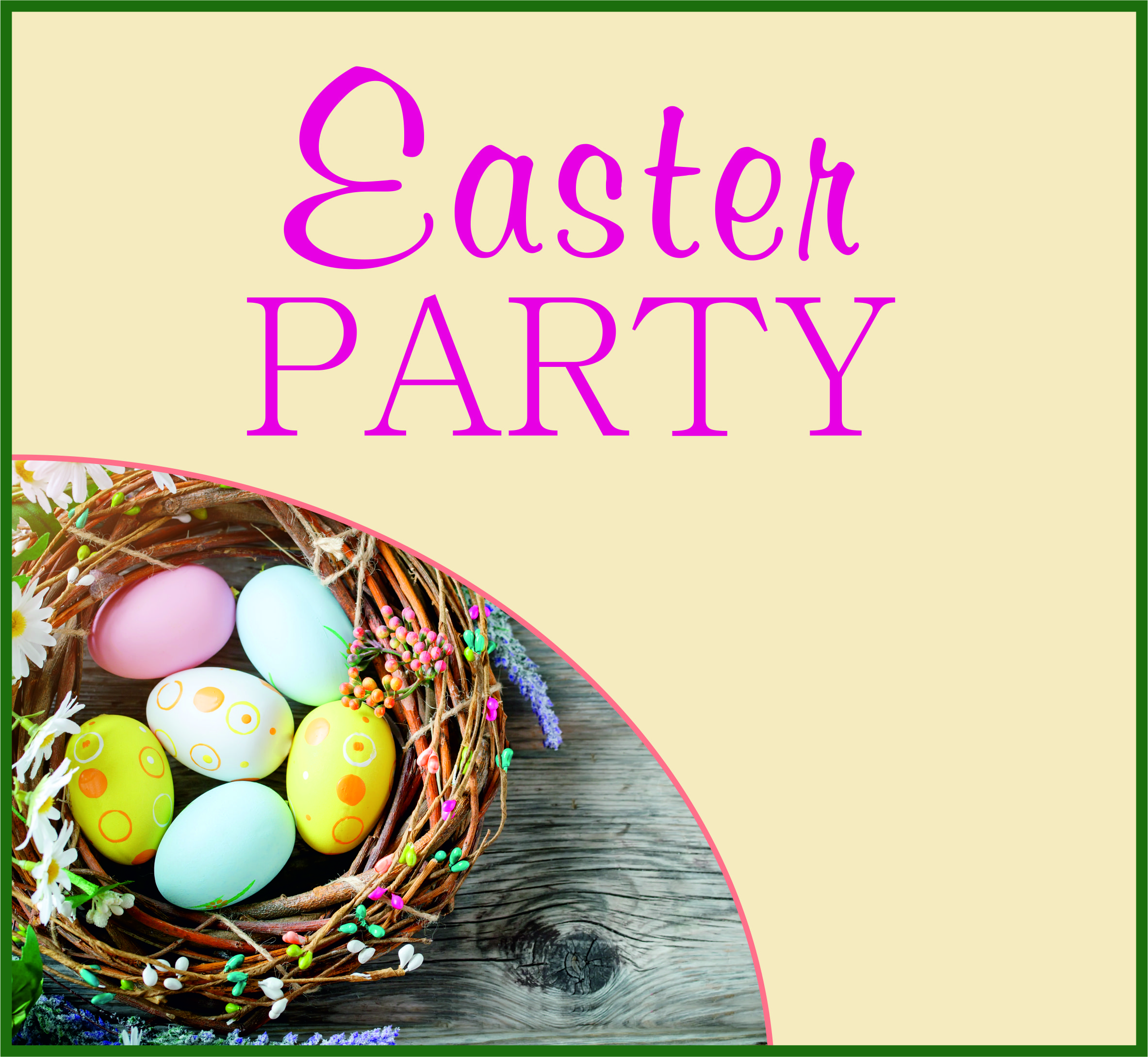 Events Template easter WH