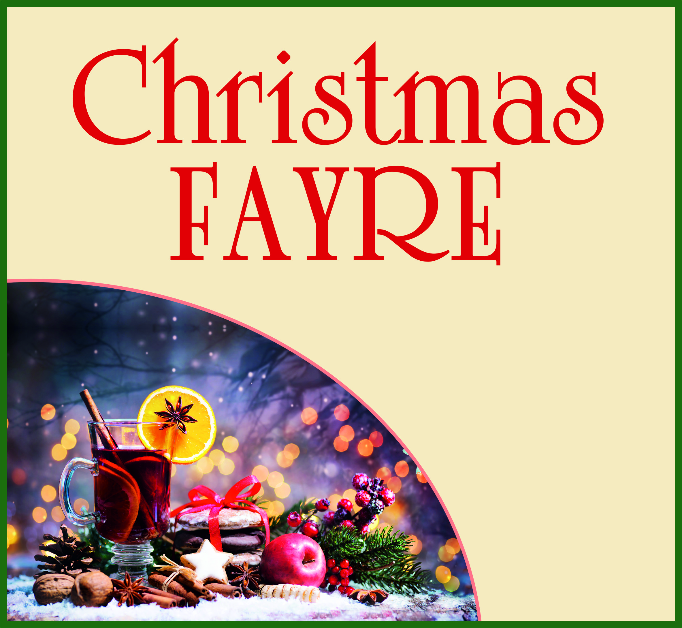 Events Template xmas fayre WH