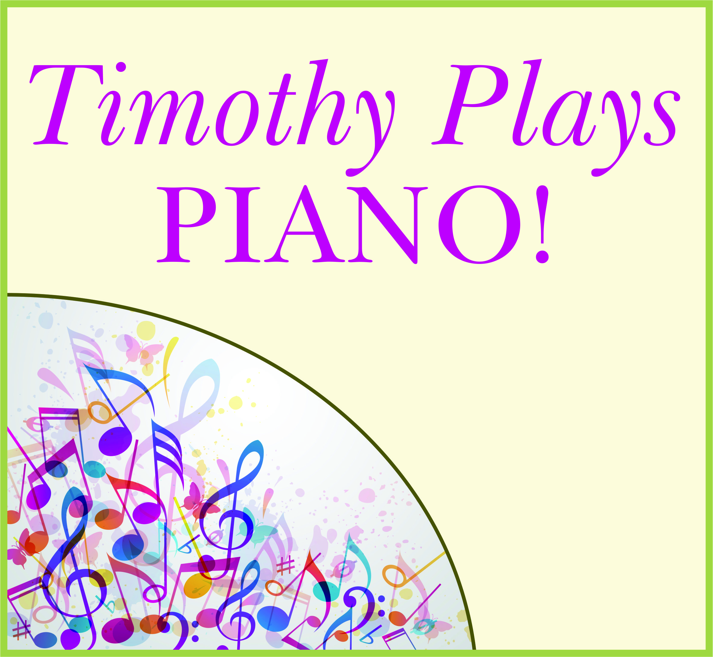 Events Template piano WP