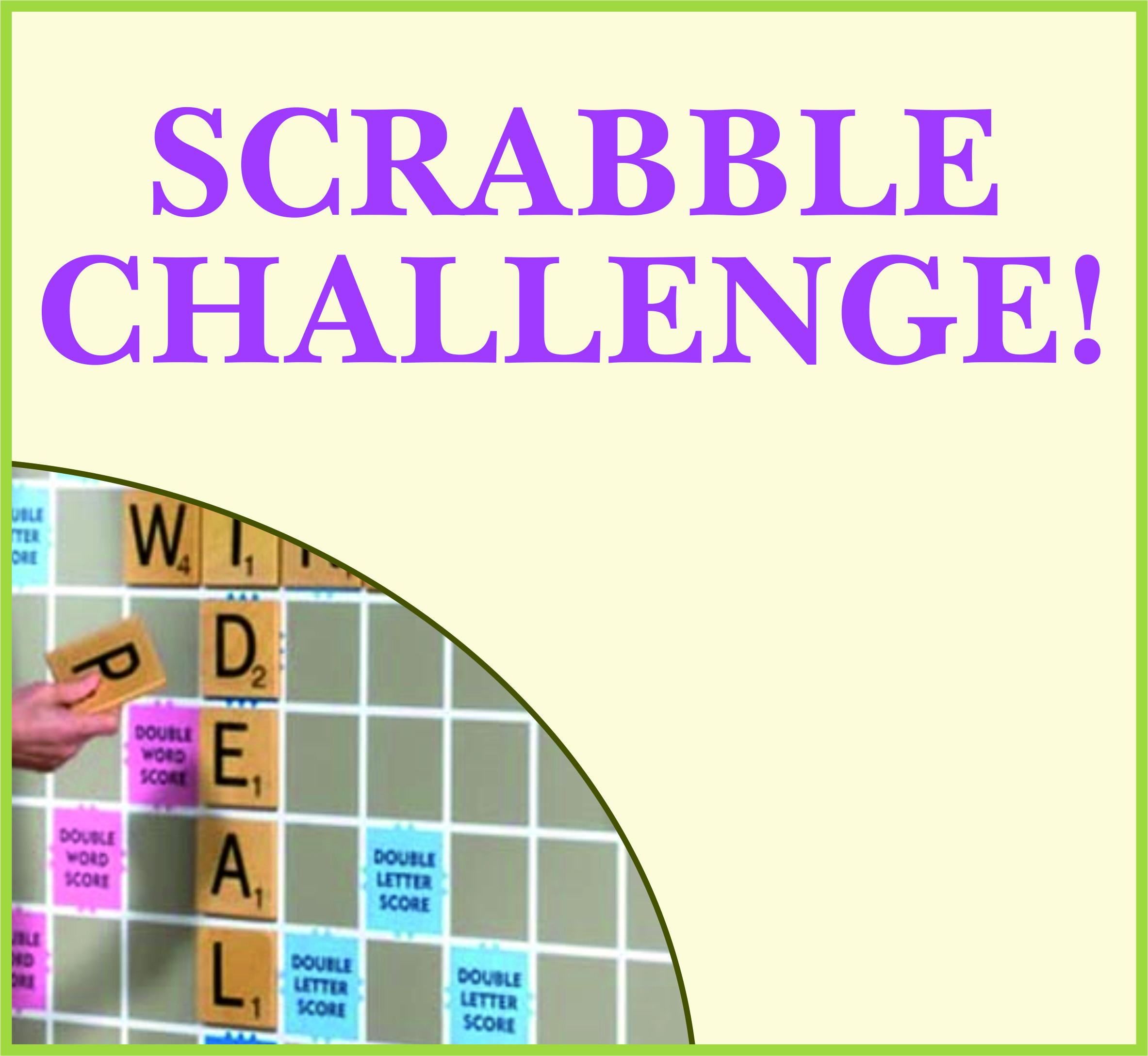 Events Template scrabble WP