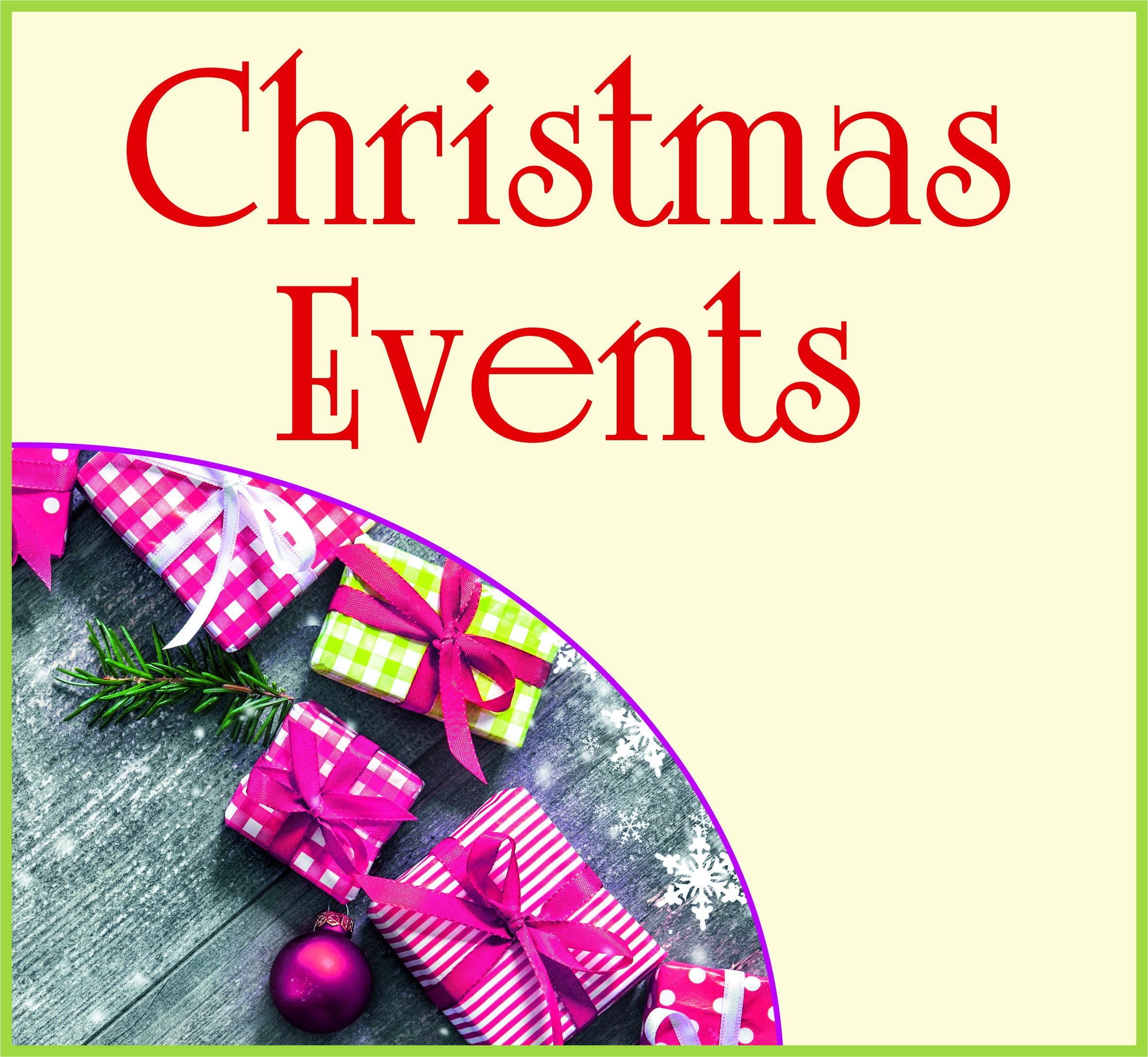 Events Template xmas events WP