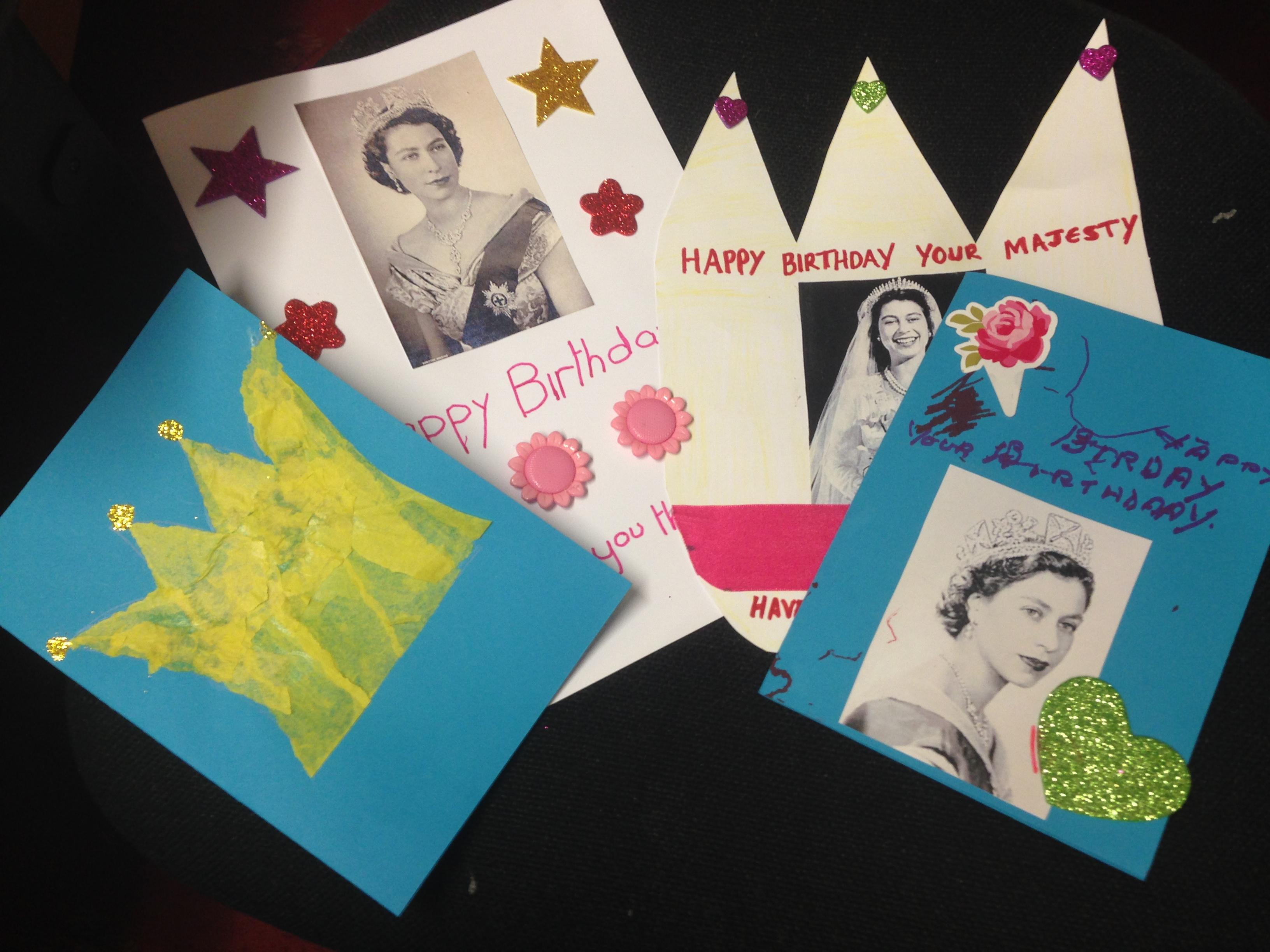 The queens birthday cards bookmarktalkfo Choice Image