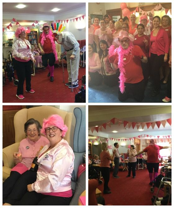 pink day collage AC