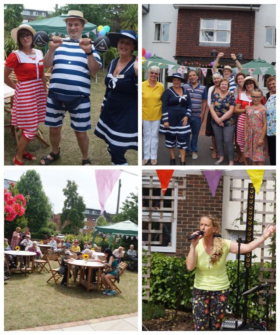 summer fete collage AC