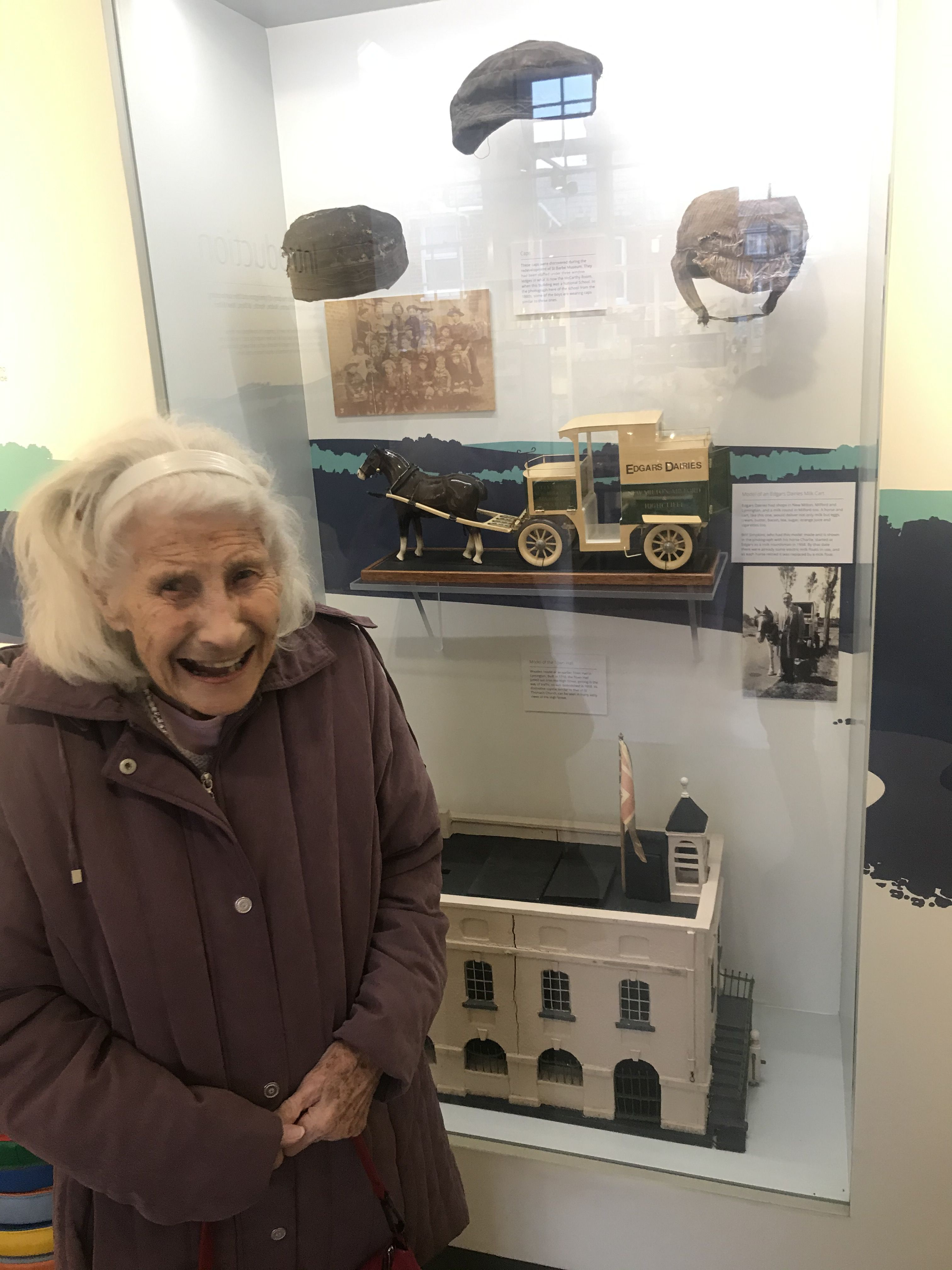 Margery at st.barbes museum LH
