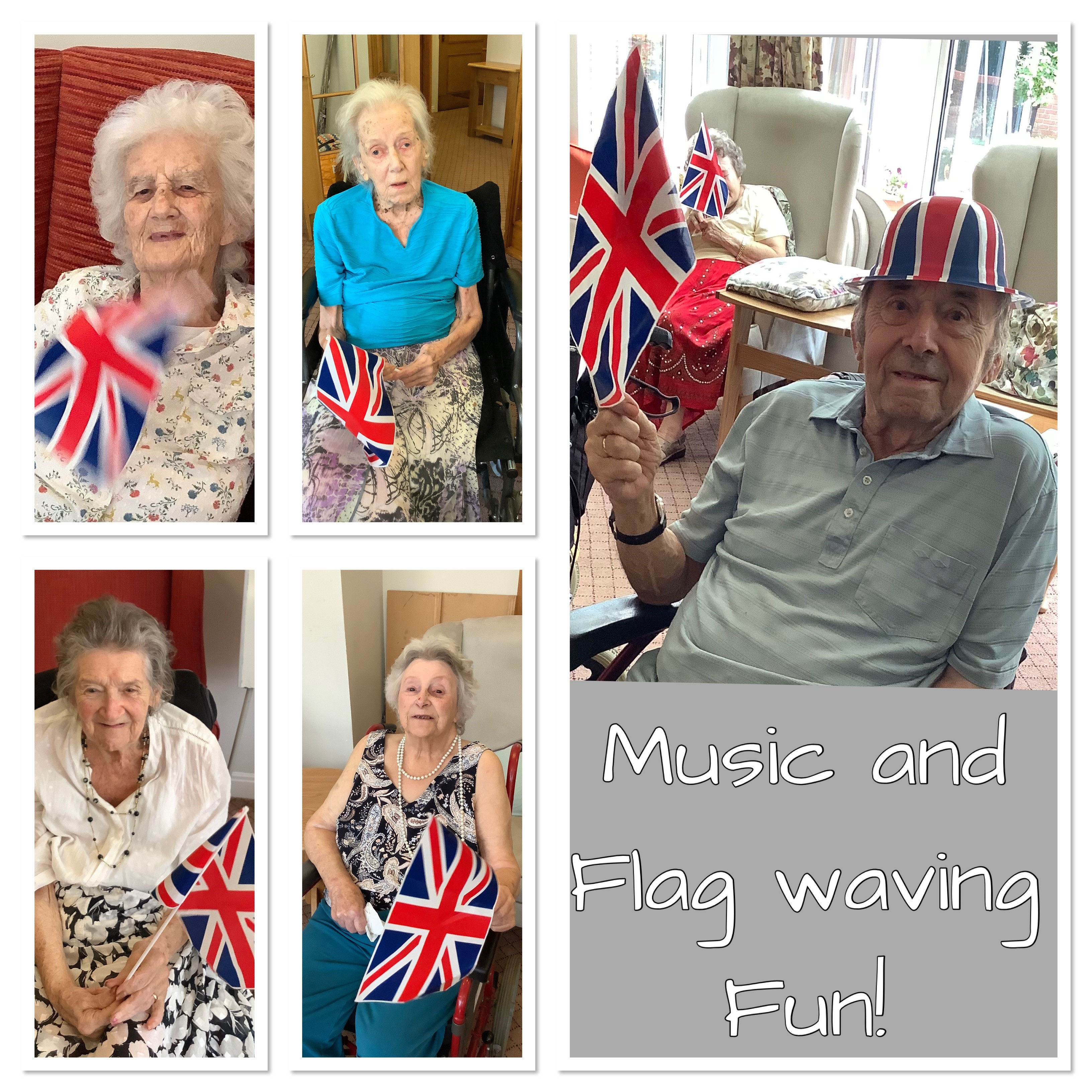 Music and flags collage (002)